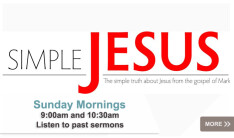 Simple Jesus sermon series
