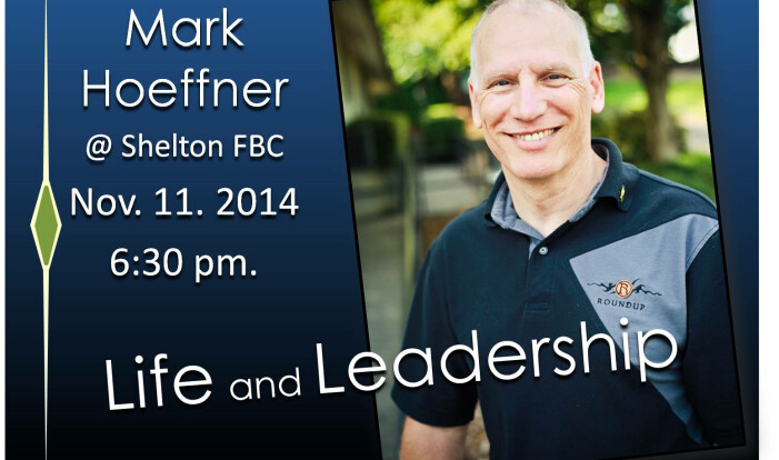 Mark Hoeffner:  Life & Leadership Event