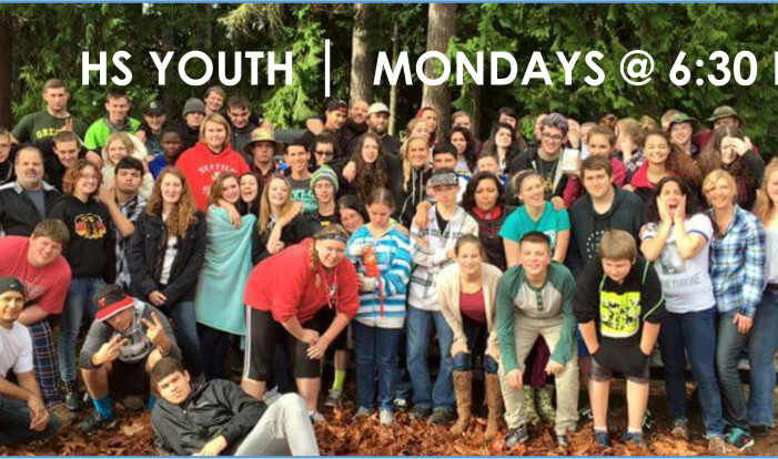 912s Youth Group - Mondays 6:30 PM