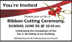 Ribbon Cutting Ceremony - Jun 5 2016 10:10 AM