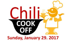 Chili Cook Off - Jan 29 2017