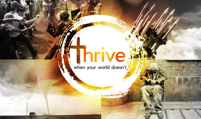 THRIVE | when your world doesn't - Oct 1 2017 9:00 AM