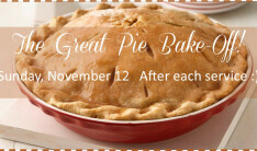 The Great Pie Bake Off 2017 - Nov 12 2017 10:30 AM