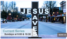 Jesus Saves  - Sundays 9:00 AM