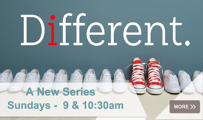 Series: Different  Romans 12  - Sundays 9:00 AM