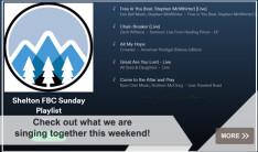 Shelton First Baptist Church Spotify