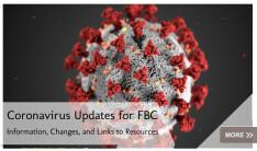 Coronavirus Updates for FBC
