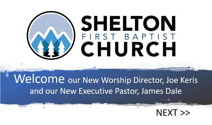 Welcome New Worship Director and Executive Pastor